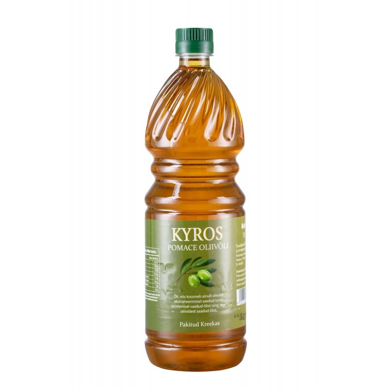 Oliivjääkõli Kyros Pomace 1L