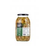 Rohelised kivideta oliivid 800g